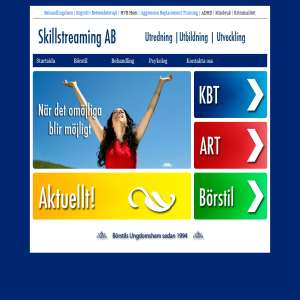 Behandlingshem - Skillstreaming.se