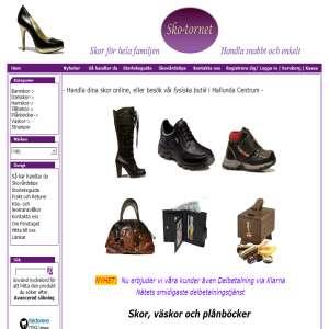 Skor och tillbehör online -  Skotornet