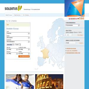 Soleatus - semesterstugor i Europa