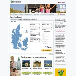 Sol og Strand - Stugor i hela Danmark