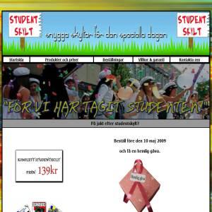 Studentskylt.org - studentskyltar, banderoller, studentposter