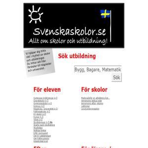 svenskaskolor