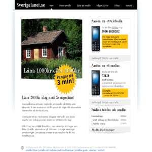 Telefonlån med Sverigelanet.se