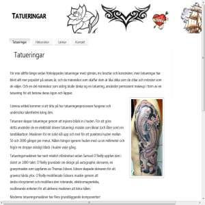 Tatueringar | Att tänka på innan du tatuerar dig