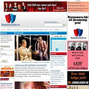 TeaterStockholm.se