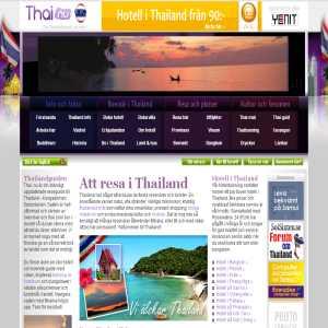 Thailand hotell och guide
