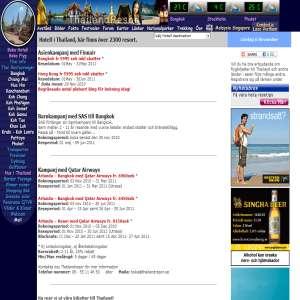 Thailand Hotell