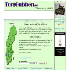 Torggubben.se - Annonsera gratis
