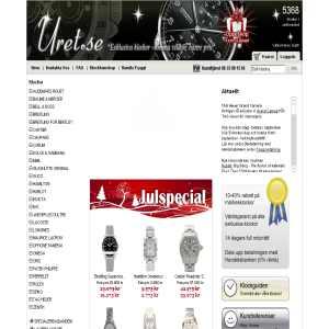 Uret.se - exklusiva klockor