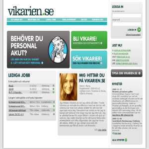 Vikarien.se - Vikariejobb på nätet