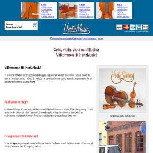HertzMusic - Cello, Violin, Viola och tillbehör