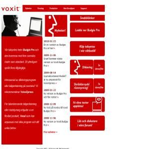 Voxit - taligenkänning