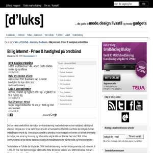Billig Internet - Billig Bredb�nd
