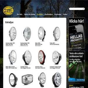 Hella - Extraljus och fordonsbelysning