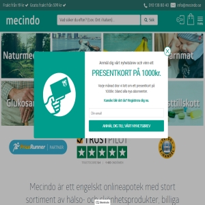 Ditt apotek och hälsobutik online