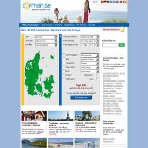 Cofman.se - Sommarstuga i Danmark