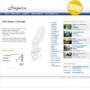 Stugnet - Stuguthyrning i Sverige