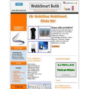 Webbsmart butik - amzonet.net