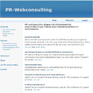 osCommerce webbutik