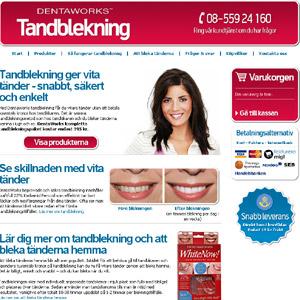 Tandblekning från DentaWorks