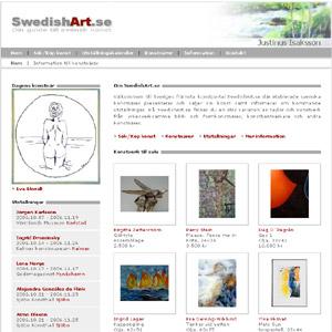 Konst från svenska konstnärer