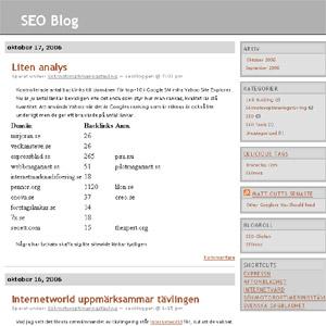 SEO bloggen