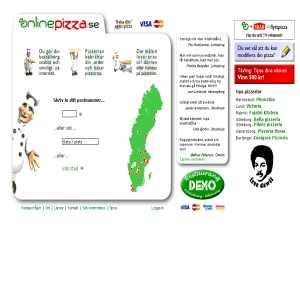 OnlinePizza.se - Pizza Hemk�rning - Pizzeria